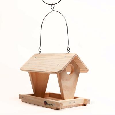 """Comedero para pájaros modelo """"Cabaña"""""""
