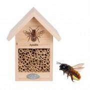 Nido-refugio para abejas y abejorros