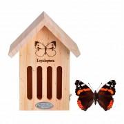 Nido-refugio para mariposas