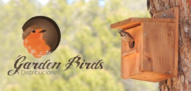 Garden Birds - Cajas nido de madera