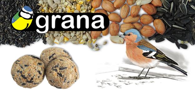 Grana - Alimento para aves de jardín