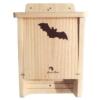 caja nido refugio para murciélagos doble cavidad