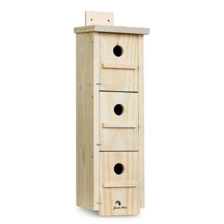 Caja nido para gorriones