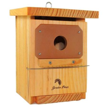Caja nido tratada con protección antipícidos