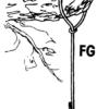 Gancho FG para colgar cajas nido y comederos