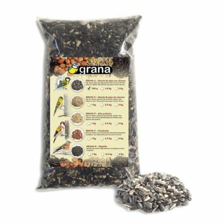 Mezcla de semillas especial con cáscara Grana-A