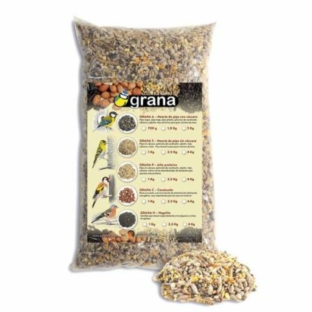 Mezcla de semillas alta proteína Grana-P
