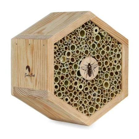 Nido-refugio hexagonal para abejas Melisa