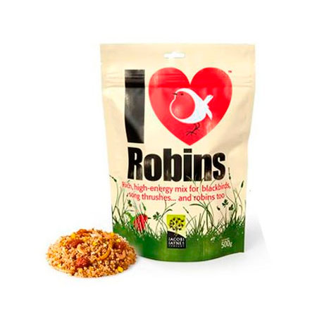 ILR1 Comida para petirrojos Robin Mix Extra 500g