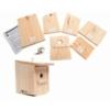 Caja nido para pájaros. Kit de construcción educativo